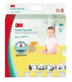 3M™ 兒童安全地墊-方塊型 (黃色) 3M_33019