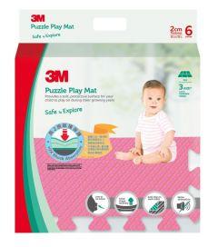 3M™ 兒童安全地墊-方塊型 (粉紅色) 3M_33021