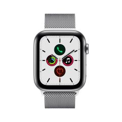 APPLE WATCH SERIES 5 (GPS + 流 動 網 絡 ) 不 鏽 鋼 錶 殼 配 鋼 織 手 環 AWS5-STL-LP