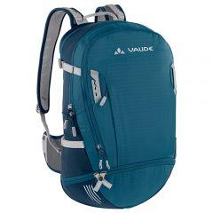 Vaude 透氣網架背囊 Bike Alpin 30L+5L - 藍綠色 4052285687458