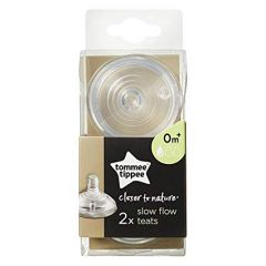 Tommee Tippee - Closer to Nature Bottle Teat - Slow Flow 218-42112038X4