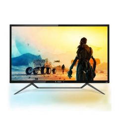 Philips - 43 inch 436M6VBRAB 3840 x 2160 Ultra HD HDR 400 LCD Monitor with Built-in DTS stereo speakers M436M6VBRAB