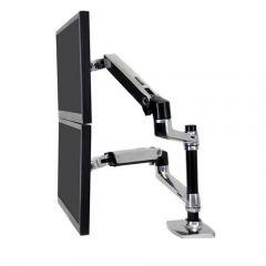 Ergotron LX 雙旋臂顯示器支架 (夾桌/穿孔式2用) 45-248-026