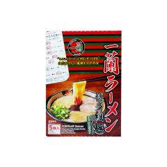 一蘭博多細麵直條麵 附一蘭特製赤紅秘製辣粉 (平行進口貨品) 4562214820936