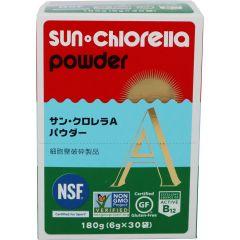 """Sun Chlorella """"A"""" Powder  4582108451237"""