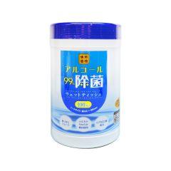 情熱價格 - 筒裝消毒濕紙巾 100pcs (平行進口貨品) 4589506152414
