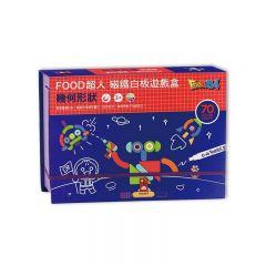 風車 - FOOD超人磁鐵白板遊戲盒-幾何形狀 4714426207320