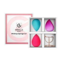 Giselle - 美妝蛋粉撲套裝 (3個美妝蛋 +1個支架)
