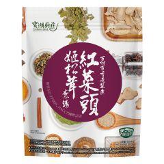 寶湖廚莊 - 紅菜頭姬松茸素湯 4897044730385