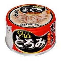 CIAO 雞肉濃湯系列 - 濃湯雞肉+吞拿魚+蟹柳棒80g X12 A-43 4901133061776