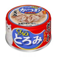 CIAO 雞肉濃湯系列 - 濃湯雞肉+鰹魚+白飯魚仔80g X12 A-45 4901133061790