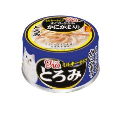 CIAO -  WHITE SOUP TUNA AND CHICKEN WITH CRABSTICK (6 CANS / 24 CANS) 4901133062377