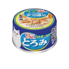 CIAO -  WHITE SOUP TUNA AND CHICKEN WITH BONITO FLAKE (6 CANS / 24 CANS) 4901133062384