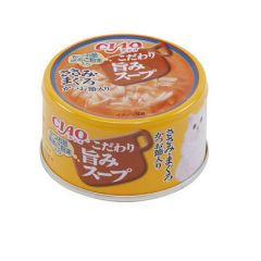 CIAO -  TASTY SOUP - CHICKEN & TUNA + BONITO FLAKES (6 CANS / 24 CANS) 4901133062681