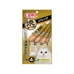 CIAO - CIAO - STICK - GRILLED BONITO BONITO SOUP FLAVOR (1 PACK/ 3 PACKS) 4901133335327_ALL