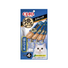 〈CIAO - JELLY STICKS〉GRILLED SKIPJACK SCALLOP FLAVOUR (1 PACK/ 3 PACKS) 4901133335334_ALL