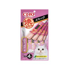 CIAO - STICK - GRILLED CHICKEN BONTIO SOUP FLAVOR (1 PACK/ 3 PACKS) 4901133335372_ALL