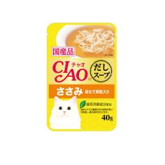 CIAO -  SOUP CHICKEN FILLET WITH SCALLOP (4 PACKS / 16 PACKS) 4901133618628
