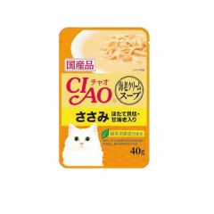 CIAO -  SOUP PRAWN CREAM SOUP CHICKEN WITH SCALLOP AND PRAWN (4 PACKS / 16 PACKS) 4901133618666