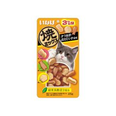 INABA - YAKI MIX (DRIED BONITO; SCALLOP AND SQUID) (1 PACK/ 3 PACKS) 4901133635762_ALL