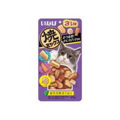 INABA - YAKI MIX (DRIED BONITO; CHICKEN SOUP AND SQUID) (1 PACK/ 3 PACKS) 4901133635779_ALL