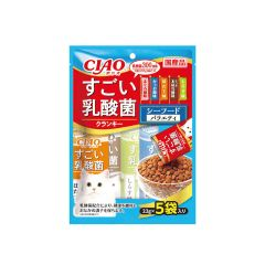 CIAO - SUGOI LACTOBACILLUS CRANKY - SEAFOOD VARIETY PARTY (1 PACK/ 3 PACKS) 4901133651823_ALL