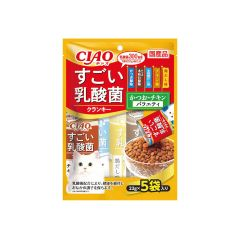 CIAO - SUGOI LACTOBACILLUS CRANKY - SKIPJACK CHICKEN VARIETY PARTY (1 PACK/ 3 PACKS) 4901133651830_ALL