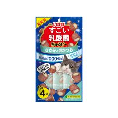 INABA - SUGOI LACTOBACILLUS CHURUBI - CHICKEN AND GRILLED SKIPJACK (1 PACK/ 2 PACKS) 4901133814877_ALL