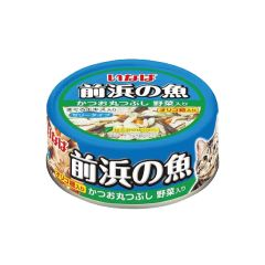 INABA - SKIPJACK (WHOLE LOIN) WITH VEGETABLES (6 CANS / 24 CANS) 4901133852992