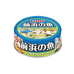 INABA - SKIPJACK (WHOLE LOIN) WITH SALMON (6 CANS / 24 CANS) 4901133853029