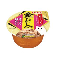 INABA - GOLDEN SOUP CUP MAGURO (SCALLOP FLAVOR) (6 CANS / 24 CANS) 4901133863301