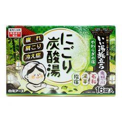 白元 - 日本名湯輕鬆泡碳酸入浴錠 4901559220795