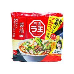 日清拉王醬油拉麵-5包裝 505克 (1件/3件) (平行進口貨品) NIS_LAO_SOY_ALL