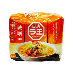 NISSIN LAO MISO 5 PACK 495G (1 Pack/ 3 Packs) (Parallel Import) NIS_LAO_MISO_ALL