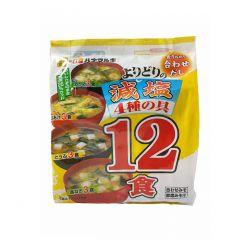 情熱價格 - 即沖綜合少鹽味噌湯12包 204克(1件)(平行進口貨品)