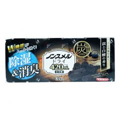 白元 - 強力抽濕器 (炭香及白檀香) 420MLX3 4902407394415