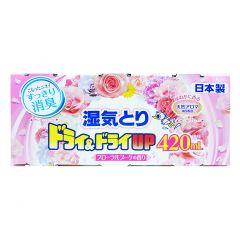 白元 - 強力抽濕器(花香味) 420MLX3 4902407397072