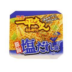 明星 - 一平安夜店豚肉鹽味炒麵 132克(1件 / 2件) (平行進口貨品)
