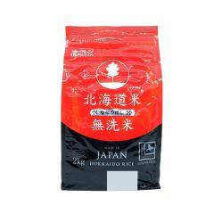 北海道七星無洗米 2公斤 (平行進口貨品) 4908101275906