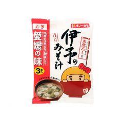 義農味噌 - 即食伊予味噌湯 28克 X 3(1件)(平行進口貨品)