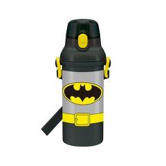 Skater - Batman Water Bottle with Straw - Grey 4973307287251