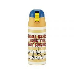 Skater - Winnie the Pooh Thermo Bottle - Yellow 4973307310829