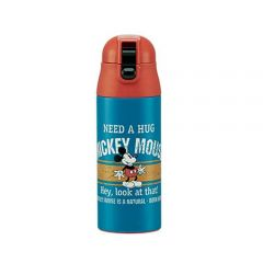 Skater - Mickey Thermo Bottle - Blue 4973307310836