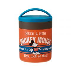 Skater - Mickey Mouse Thermo Pot - Orange 4973307310874