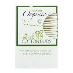 Simply Gentle Organic Cotton Buds ( 200 Buds ) 5060202922079