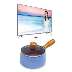 "Philips - 50PUD6654 HD LED Smart TV + Philips - PRO6105BK Earphones + Panasonic - F-301CH Desk Fan (30cm/12"") 50PUD6654_30gift"