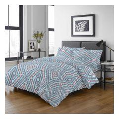 Uji Bedding - 1000 Threads Cotton Pattern Bedding Set [5205](4 Sizes option)52S-5205-MO