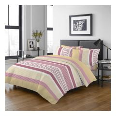 Uji Bedding - 1000 Threads Cotton Pattern Bedding Set [5206](4 Sizes option)52S-5206-MO