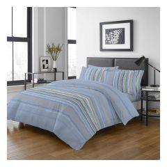 Uji Bedding - 1000 Threads Cotton Pattern Bedding Set [5207](4 Sizes option)52S-5207-MO