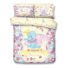 Uji Bedding - 1000 threads Cotton Characters Bedding Set - Dumbo(4 Sizes option)52S-DB2101-MO